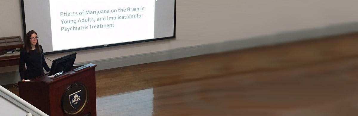 Jodi Gliman delivering a talk