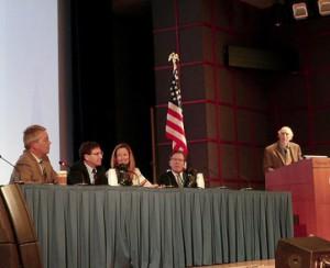 Edin Evins at the Marijuana and Cannabinoids Summit , 2016